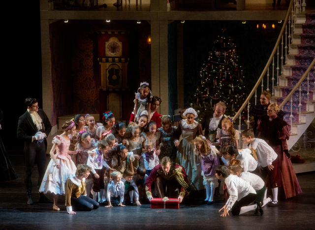 "Nevada Ballet Theatre's ""The Nutcracker"" opens Saturday at The Smith Center. Photo credit: Virginia Trudeau. Courtesy photo from Nevada Ballet Theatre."