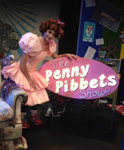 'The Penny Pibbets Show' will attempt to move the child-woman from 'Absinthe' into a wider realm of fame. (Mike Weatherford/Review-Journal).
