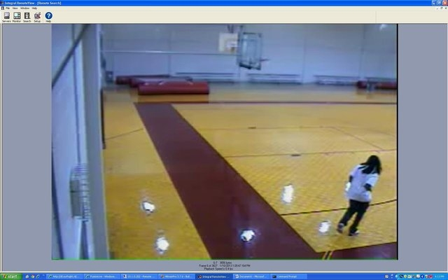 Kendrick Johnson is shown in the Lowndes County High School gym in January the day his body was found rolled up in a wrestling mat.  The sheriff's office and Georgia Bureau of Investigation determ ...