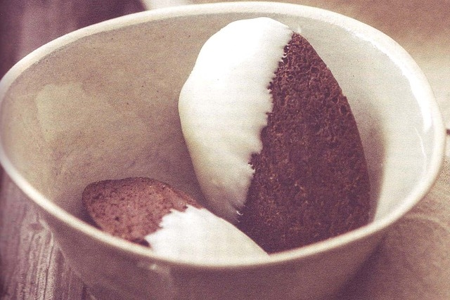 """Black and White Madelines from """"Madeleines"""" by Barbara Feldman Morse (Quirk Books)"""