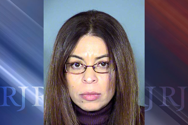 Laura Juana Droemer, 46, is facing one count of conspiracy to violate uniform controlled substances act and one count of the sale of a controlled substance. (Las Vegas Metropolitan Police Department)