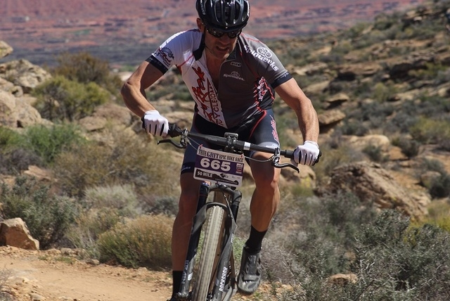 Bikers of mountain biking trails believe it could bring economic relief to Beatty. (Special to the Pahrump Valley Times)