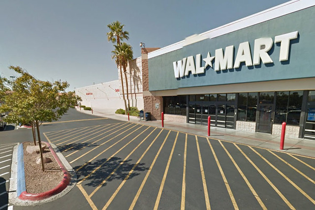 Walmart on Cheyenne and Rainbow. (Screen grab/ Google Street View)