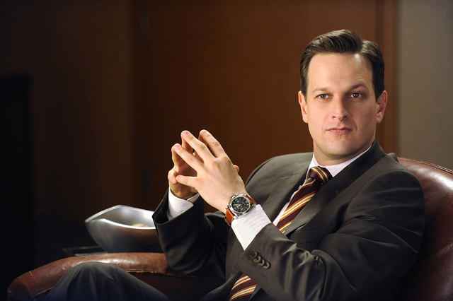 """""""Real Deal"""" -- Will Gardner (Josh Charles) and Diane Lockhart must put their coup on hold as Derrick Bond brings in a Super PAC as a client, on THE GOOD WIFE, Tuesday, Feb. 8 (10:00-11:0 ..."""