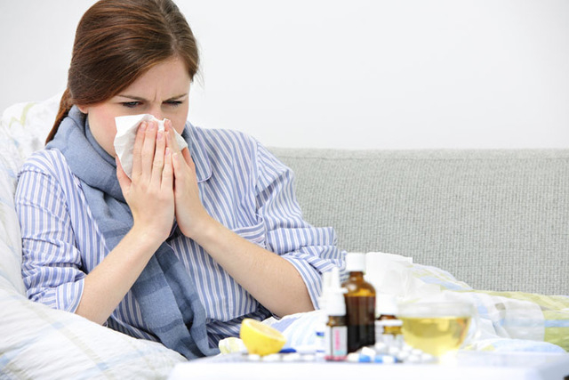 Every year, nearly 200,000 Americans are hospitalized due to the flu. (Thinkstock)