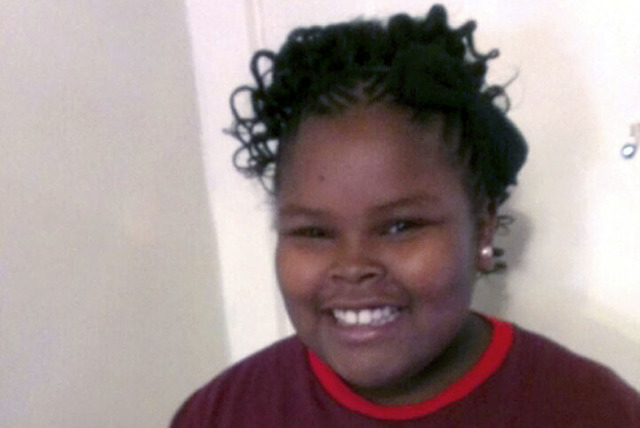 This undated file photo provided by the McMath family and Omari Sealey shows Jahi McMath, the 13-year-old girl who was declared brain dead Dec. 12, 2013 after suffering complications from sleep ap ...