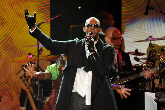 Recording artist R. Kelly performs onstage at The 56th Annual GRAMMY Awards Salute to Industry Icons with Clive Davis, on Saturday, January 25, 2014 at the Beverly Hilton Hotel in Beverly Hills, C ...