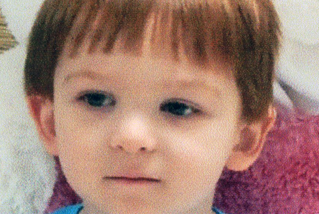 This undated photo provided by the Chester County District Attorney's Office, in Pennsylvania, shows 3-year-old Scott McMillan. Gary Lee Fellenbaum and Jillian Tait were charged Thursday, Nov. 6,  ...