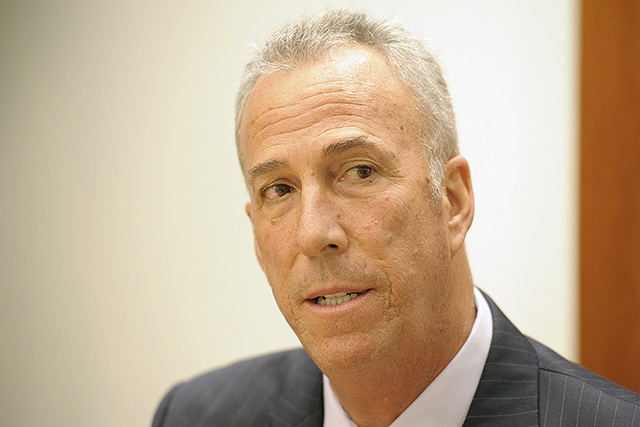 Clark County District Attorney Steve Wolfson (Mark Damon/Las Vegas Review-Journal File)