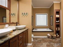 Bathroom bliss: Upscale touches top manufactured homes trends in 2015