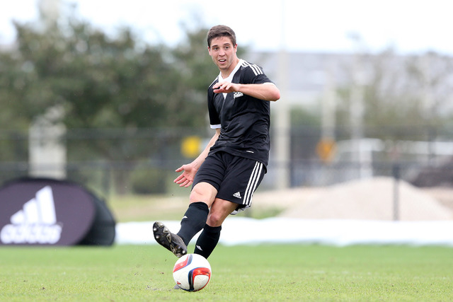Matt Polster was the Nevada Gatorade Player of the Year when he was at Palo Verde. Polster (4) now plays for Southern Illinois-Edwardsville and is shown playing DePaul on Sept. 13, 2014.  2015 MLS ...