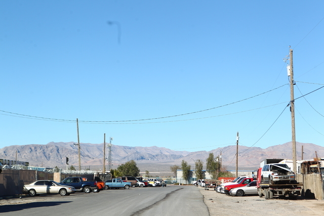 A man was found dead in a wash in the northeast valley, Las Vegas police said. The call came in about 11:55 a.m. of a man who did not appear to be breathing in a wash at Copper Sage Street, near L ...