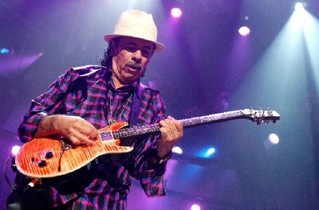 Carlos Santana (Las Vegas Review-Journal file)