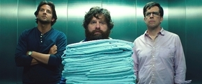 """Bradley Cooper, Zach Galifianakis and Ed Helms star in """"The Hangover Part III."""""""