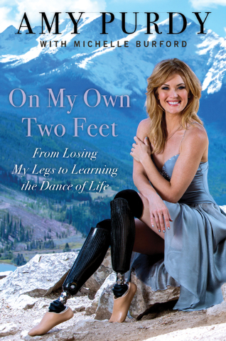 "Amy Purdy, bronze medalist in snowboarding at the 2014 Sochi Paralympics, ""Dancing With the Stars"" finalist and cofounder of the nonprofit Adaptive Action Sports, is set to talk about her debut bo ..."