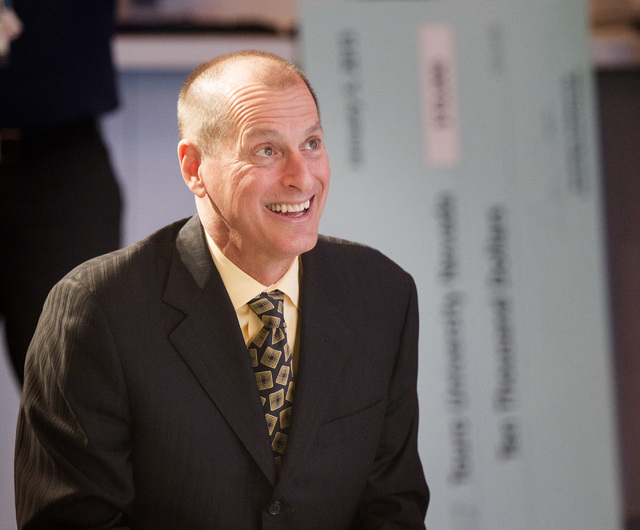 Gary Shapiro, president and CEO of the Consumer Electronics Association, speaks during a press conference on Monday, Jan. 5, 2015, in the Las Vegas Convention Center. CEA, owner and producer of th ...