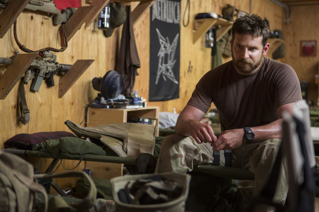 """Bradley Cooper stars as Chris Kyle in Warner Bros. Pictures' and Village Roadshow Pictures' drama """"American Sniper."""" (Keith Bernstein/Warner Bros. Pictures)"""