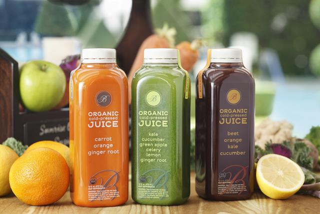 Organic cold-pressed juices, Jean Philippe Patisserie, Spa Bellagio, Palio, Palio Pronto, Cafe Bellagio and Cafe Gelato, Bellagio (Courtesy)
