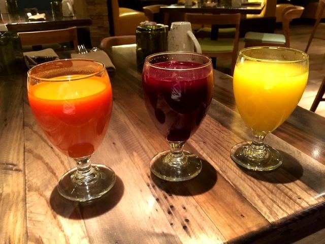 Seasonal juices, Della's Kitchen, Delano (Courtesy)
