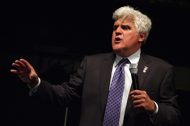 Jay Leno is seen performing on July 9, 2011. (Courtesy, CNN)