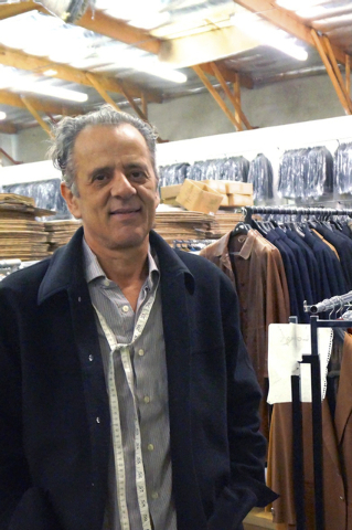Tasos Lazarou is manager of the Mastroianni Fashions store and warehouse at 3055 W. Tompkins Ave. (Diane Taylor/Special to View)