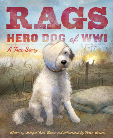 """Rags worked hard at keeping rats and mice away from the soldiers. He acted as an early-warning system for incoming shells; when he fell """"belly-to-dirt,"""" so did the soldiers. He sniffed out wir ..."""