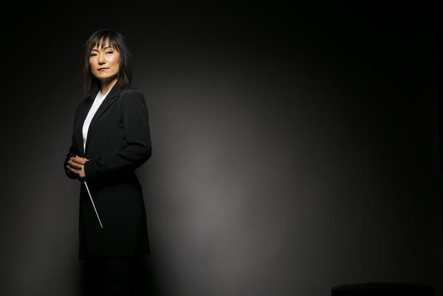"Rei Hotoda returns to conduct the Las Vegas Philharmonic's ""Rising Star"" concert. (Todd Rosenberg/Courtesy)"