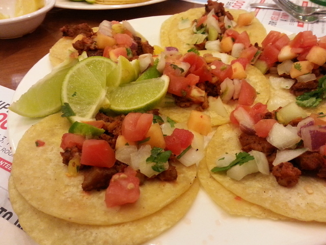 Made-to-order Tacos Al Pastore, Feast Buffet, Texas Station (Courtesy)