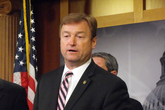 "Sen. Dean Heller, R-Nev., said Obama ""failed to offer a legitimate road map for job creation or for turning the economy around. (Steve Tetreault/Stephens Washington Bureau, file)"