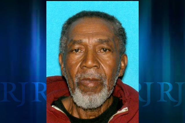 Hollis Thompson, 73, of North Las Vegas, was reported missing Jan. 7, 2015. North Las Vegas police said Thursday, Jan. 15, that Thompson's body was found in a wash in northeast Las Vegas on Wednes ...