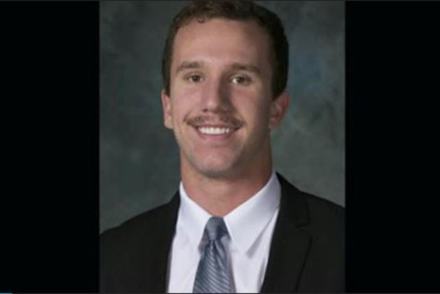 Jeremy Huber of Las Vegas, a student at Johns Hopkins University, was found dead in his dorm room on Sunday, Jan. 25, 2015. (Screengrab/Baltimore Sun)
