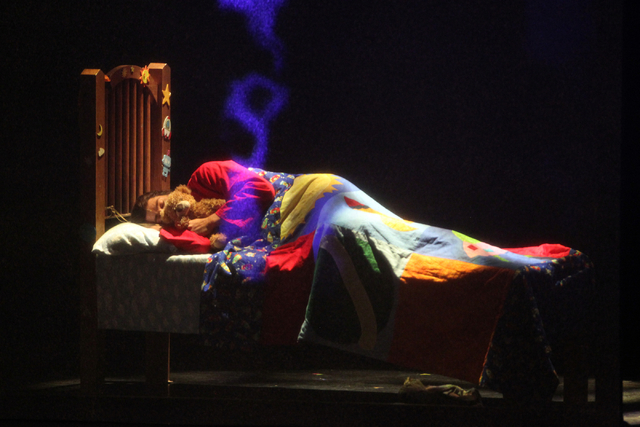 Ace Young performs as Joseph in touring version of Ҋoseph and the Amazing Technicolor DreamcoatӠat The Smith Center in Las Vegas on Tuesday, Jan. 20, 2014. The Andrew Lloyd Webber/Tim  ...