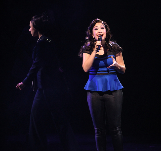 Diana DeGarmo performs as Narator in touring version of Ҋoseph and the Amazing Technicolor DreamcoatӠat The Smith Center in Las Vegas on Tuesday, Jan. 20, 2014. The Andrew Lloyd Webber ...