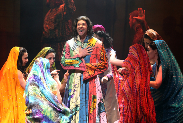 Ace Young performs as Joseph in touring version of Ҋoseph and the Amazing Technicolor DreamcoatӠat The Smith Center in Las Vegas on Tuesday, Jan. 20, 2014. The Andrew Lloyd Webber/Tim Rice music ...