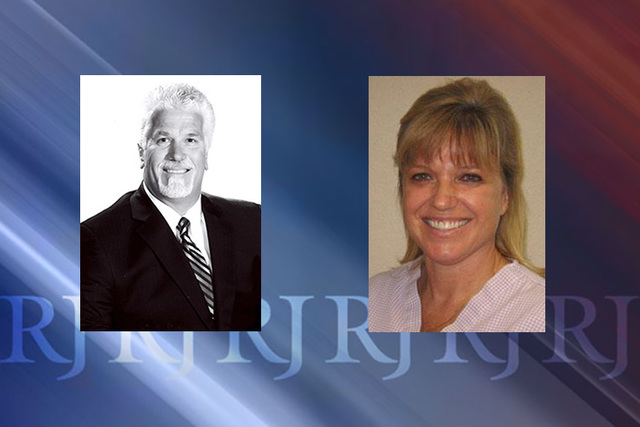 Kingman councilman Mark Wimpee, 54, and Kingman dentist Dr. Susan Haynes, 52, each face one count each of disorderly conduct and assault. Both are misdemeanors. (Courtesy photos)