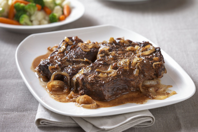 Mediterranean braised beef makes a meal. (Courtesy/Beef Checkoff)