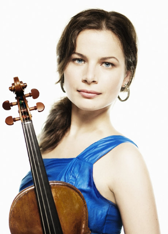 """Violinist Bella Hristova makes her debut with the Las Vegas Philharmonic at Saturday's """"Rising Star"""" concert. Photo credit: Lisa-Marie Mazzucco. Courtesy photo."""