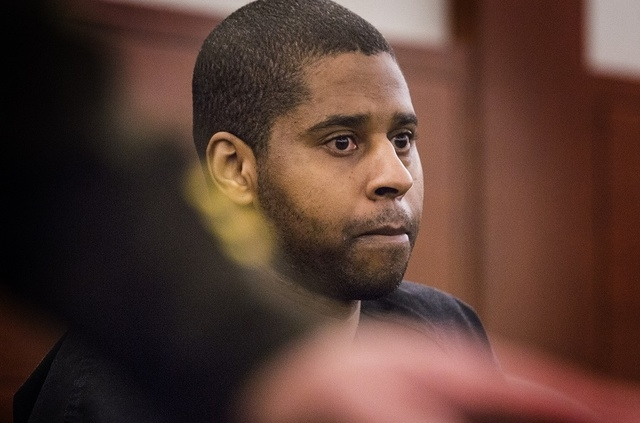 "Markiece Palmer, convicted of first-degree murder in the beating death of 7-year-old Roderick ""RJ"" Arrington, during sentencing  Wednesday, January 21, 2015  at Regional Justice Center, 200 Lewis  ..."