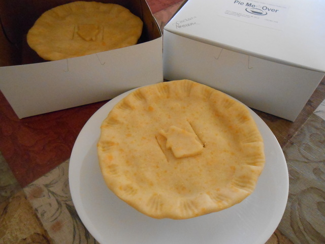Gourmet pot pies are ready to be picked up and baked at home at Pie Me Over. The new business is staking its reputation on one item, chicken pot pies, with a recipe that uses rotisserie chicken an ...