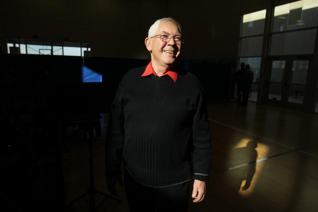 Pastor Bill Hanna poses for a portrait at Sin City Church. (Erik Verduzco/Las Vegas Review-Journal)