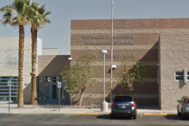 Reynaldo Martinez Elementary School. (Screengrab/Google Street View)