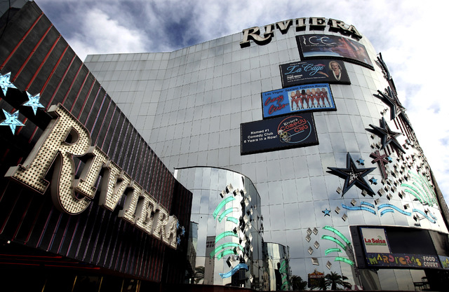 Dustin McCaskill, of Colorado Springs, Colo., was arrested by FBI agents at the Riviera earlier in January for posting threats on his Colorado Cop Block Facebook page while staying at the hotel-ca ...