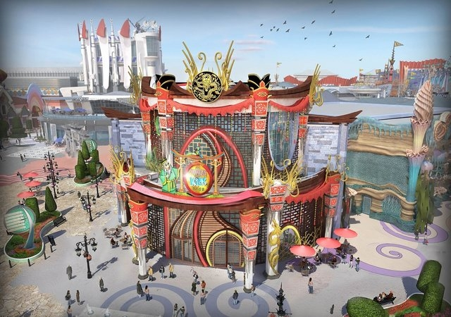 "Just outside of Bejing, Eternity Passage claims it will be China's first hi-tech amusement park, weaving Chinese history with ""technology fantasy""."