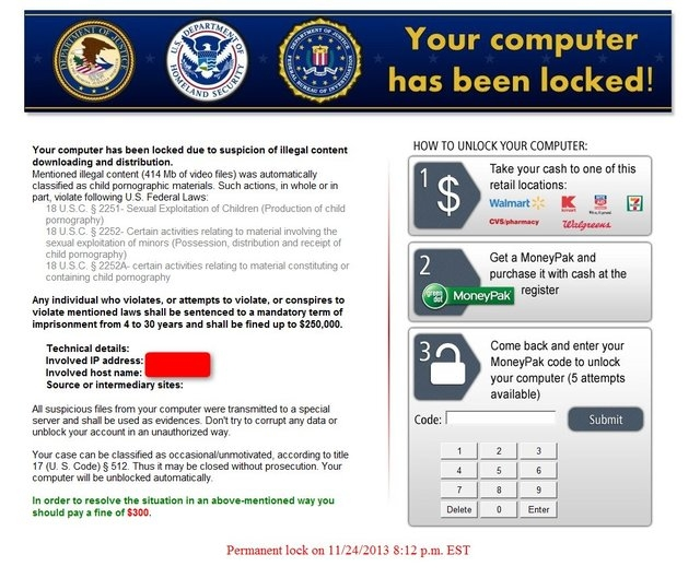 Between Dec. 31, 2014 and Jan. 5, 2015, The Huffington Post and several major websites displayed malware-laced advertisements that infected computers and locked them down. Infected computers got t ...