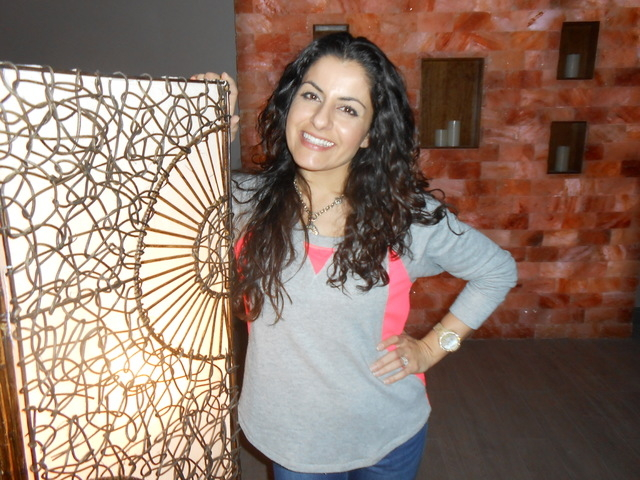 Ava Mucikyan, founder and operator of the Salt Room LV, talks about the healing benefits of salt Dec. 17, 2014. She filled the 2,300-square-foot space with blocks of pink and white variegated salt ...
