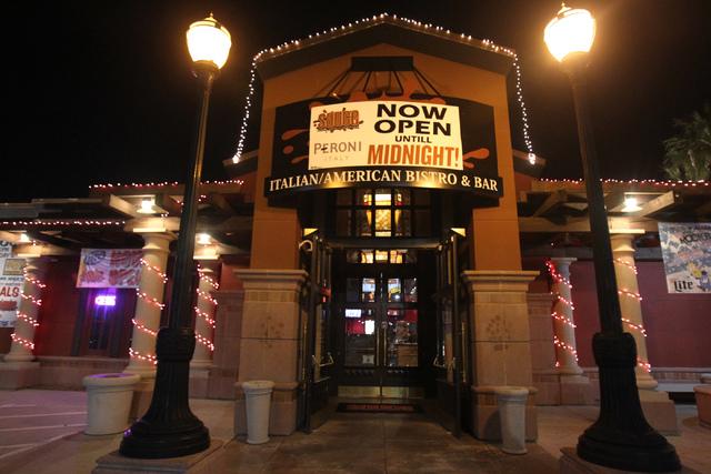 Sauce restaurant, 721 Mall Ring Circle, in Henderson, Nev., is seen on Sunday, Dec. 28, 2014. (Erik Verduzco/Las Vegas Review-Journal)