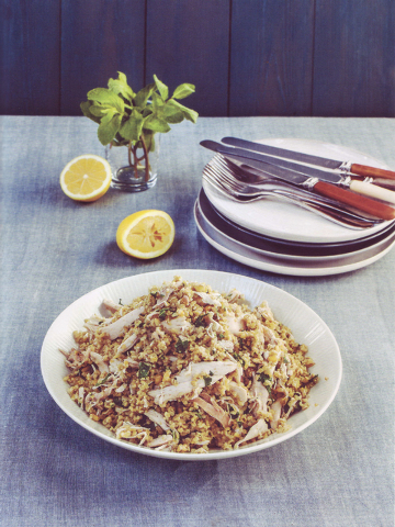 """Chicken with Freekeh from Jenni Muir's """"Super Grains."""" (Courtesy)"""