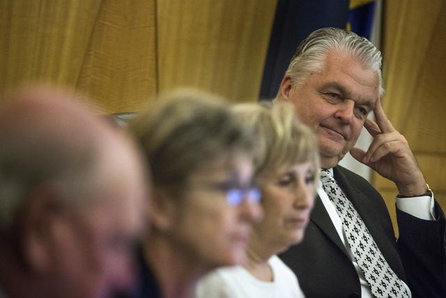 Clark County Commissioner Steve Sisolak (Jeff Scheid/Las Vegas Review-Journal file)