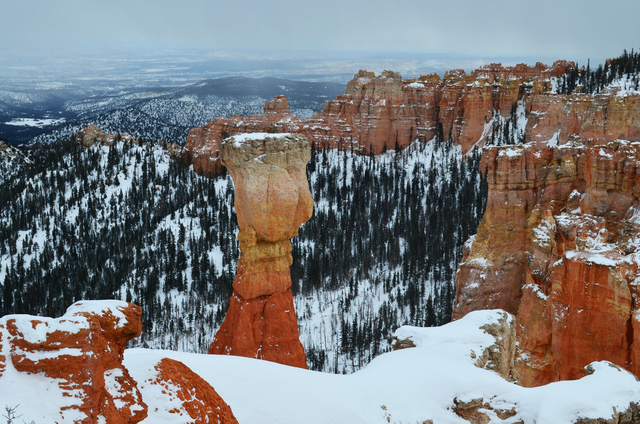 Ice, water and wind combine to create the hoodoos Bryce Canyon National Park is known for. (Las Vegas Review-Journal file photo)