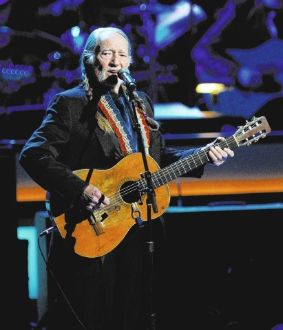 Singer Willie Nelson performs during the opening night of The Smith Center for the Performing Arts on Saturday, March 10, 2012. The $470 million Smith Center is the heart of downtown's new urban d ...